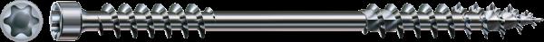 SPAX-Iso Dämmstoffschraube Dach & Fassade, Ø 10 mm, WIROX, Zylinderkopf, Fixiergewinde, T-STAR plus