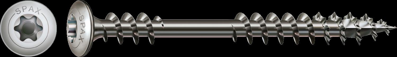 SPAX Terrassenschraube Edelstahl rostfrei A2 Torx Zylinderkopf Fixiergewinde