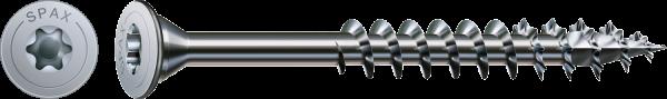 Spax Universalschraube, Ø 5 mm, WIROX, Tellerkopf ohne Linse, Teilgewinde 4CUT, T-STAR plus, T20