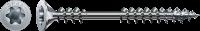 Spax Verlegeschraube 4,5x80, Fixiergewinde, Senkkopf, WIROX, T-STAR plus 4,5 x 80 mm 200 Stück