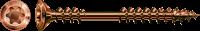 SPAX Fassadenschraube Antik, Linsensenkkopf, Fixiergewinde, Edelstahl A2, T-STAR plus