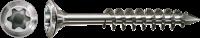 SPAX Fassadenschraube, 4,5x70 mm, Linsensenkkopf, Teilgewinde, Edelstahl A2, T-STAR plus 4,5x70 mm 100 Stück
