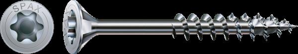 Spax Universalschraube, Teilgewinde, Senkkopf, WIROX T-STAR plus