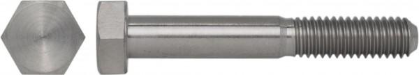 DIN 931/ISO 4014 Sechskantschraube mit Schaft Titan Grade 2