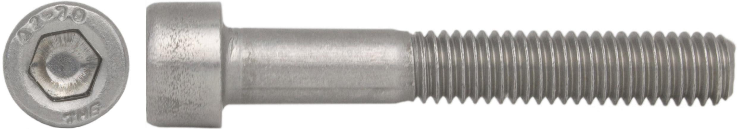 aus rostfreiem Edelstahl A2 V2A 5 St/ück Zylinderkopfschrauben SC912 M3x5 - Zylinderschrauben mit Innensechskant - DIN 912 ISO 4762 - Vollgewinde