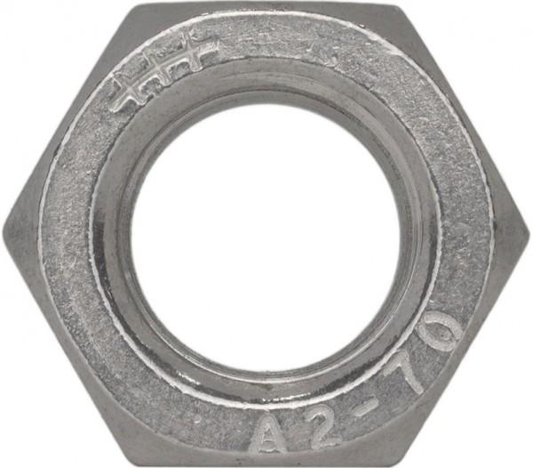 DIN 934/ISO 4032 Sechskantmutter Feingewinde Edelstahl A2