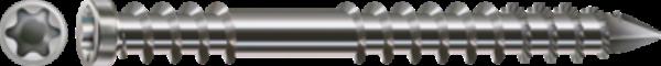 SPAX-D Terrassenschrauben Ø 5,5 mm Edelstahl A4 Zylinderkopf TORX