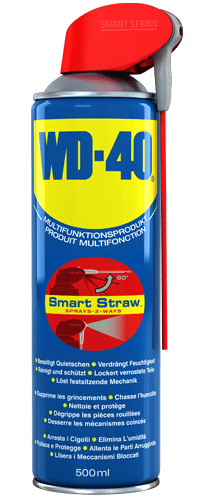 WD-40 Multifunktionsprodukt Smart Straw 500ml