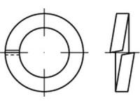 DIN 7980 Federring für Zylinderschrauben Edelstahl 1.4310 (A1)
