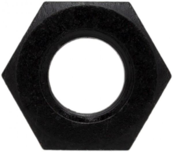 DIN 934/ISO 4032 Sechskantmutter Titan Grade 2 schwarz