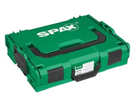 SPAX Montagekoffer L-BOXX, Halbrundkopf, Edelstahl A2, 2451tlg. inkl. BITbox