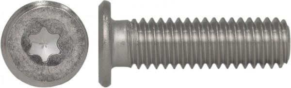 Zylinderschraube mit Innensechsrund und extrem niedrigem Kopf Edelstahl A2 SN20146