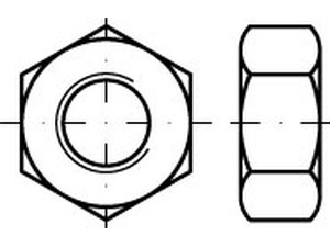 DIN 934/ISO 4032 Sechskantmutter Polyamid