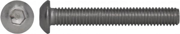 ISO 7380-1 Linsenschraube Innensechskant Titan Grade 2