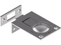 Einlassgriffe / Bodenheber, Feinguss, poliert 57 X 40 mm, Edelstahl A4