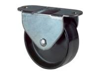 Möbelrolle / Kastenrolle, Kunststoffrad, Gleitlager