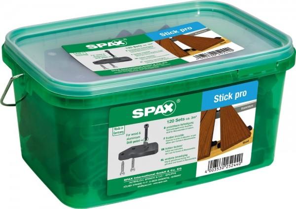 Spax Terrasse Stick pro 120 Stück für 3 m²