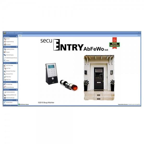 Burg Wächter secuENTRY 7094 AbFeWo Software