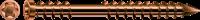 SPAX-D Terrassenschraube ANTIK Ø 5 mm, Edelstahl A2 Zylinderkopf, T-STAR plus