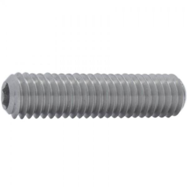 DIN 913/ISO 4026 Gewindestift Titan Grade 5 mit Innensechskant und Kegelkuppe