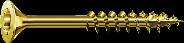 SPAX Universalschraube, Ø 4 mm, YELLOX Senkkopf Teilgewinde T-STAR plus