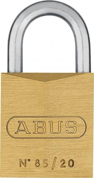 Abus Messing Vorhangschloss 85 inkl. 2 Schlüssel