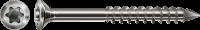 Spax Fassadenschraube, Linsensenkkopf klein, 4,5x70 mm, Teilgewinde, Edelstahl A2, T-STAR plus 4,5x70 mm 100 Stück