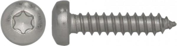 ISO 14585 C Flachkopf-Blechschraube Innensechsrund Edelstahl A2