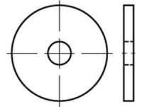 DIN 1052 Unterlegscheibe Holzkonstruktion Stahl verzinkt