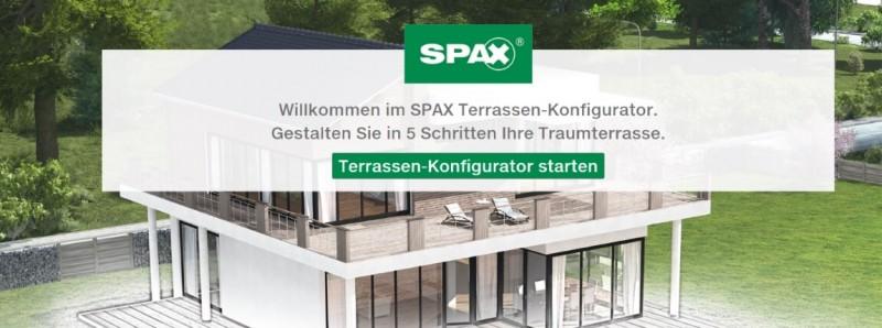 Spax Terrassen Konfigurator