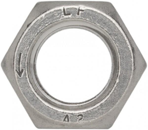 DIN 934/ISO 4032 Sechskantmutter Linksgewinde Edelstahl A2