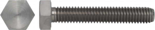 DIN 933/ISO 4017 Sechskantschraube Titan Grade 2
