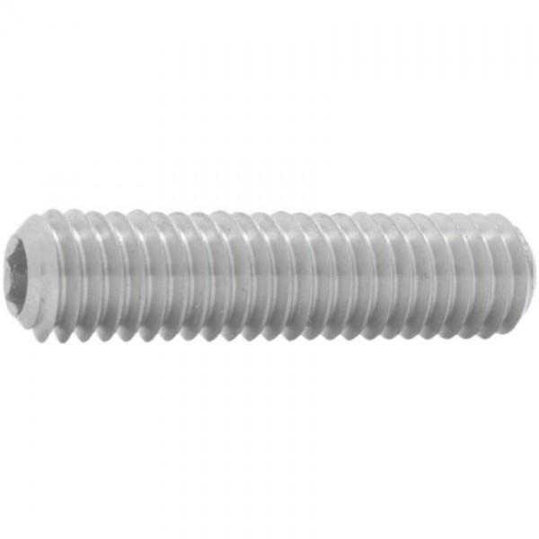 DIN 913/ISO 4026 Gewindestift Edelstahl A2 mit Innensechskant und Kegelkuppe