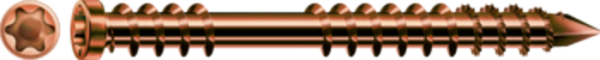 SPAX-D Terrassenschraube antik Ø 5,5 mm, Edelstahl A4 Zylinderkopf, T-STAR plus
