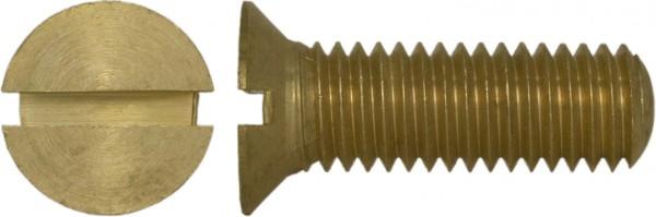 DIN 63 Schraube Senkkopf Messing