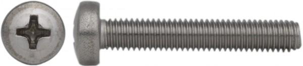 DIN 7985 Linsenschraube mit Kreuzschlitz H Titan Grade 2