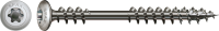 Spax Terrassenschraube Bold, 5x56 mm, Edelstahl A2, Zierkopf, Fixiergewinde