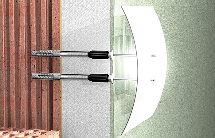 fischer fischer Thermax 8//60 M6 WDVS-Dübel FISCHER-Dübeltechnik Thermax 8//10