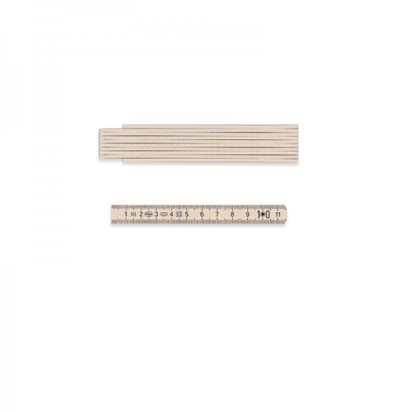 Adgar Holz-Gliedermaßstab 1 m
