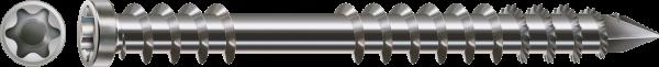 SPAX Terrassenschrauben Ø 5 mm Großpackung Edelstahl A2 Zylinderkopf Fixiergewinde T-Star plus
