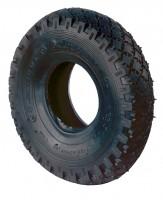 Decke, schwarz, Rillenprofil, Lagenanzahl Ply 4, D50.403 400 mm