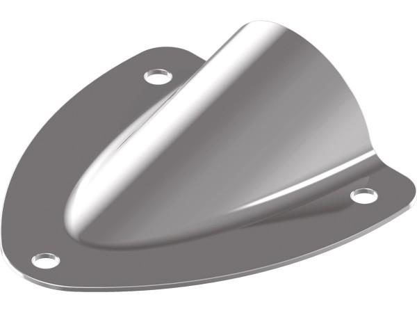 Mini-Lenzer / Wasserabweiser / Lüfterblenden, Edelstahl A4