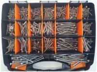 Spanplattenschrauben-Sortiment TX Senkkopf Edelstahl A4 (M8381-4-SET 3)