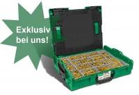 Spax Montagekoffer L-BOXX Schraubenset YELLOX *T-STAR plus (TORX)*