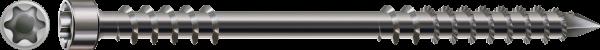 Spax Weg- und Stegschraube, Ø 8 mm, Edelstahl A4, Zylinderkopf, Fixiergewinde, T-STAR plus T4