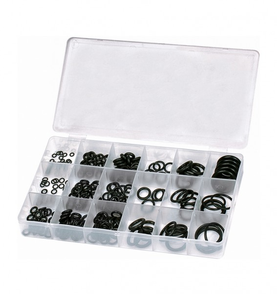 O-Ring-Sortiment, 225 tlg., BOX-OR225