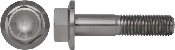 DIN 6921 Sechskantschraube mit Flansch Feingewinde Titan Grade 5