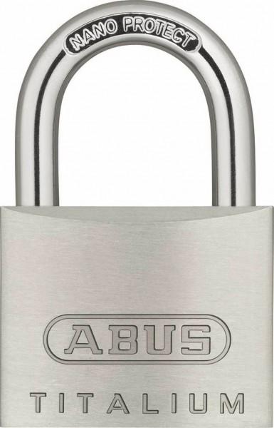 ABUS Titalium Vorhangschloss 64Ti inkl. 2 Schlüssel verschiedenschließend