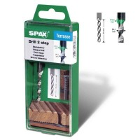 SPAX drill 2 step Stufenbohrer 4,1mm/6,5mm