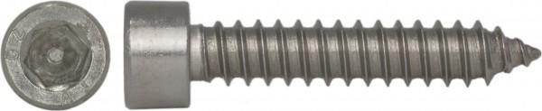 Zylinder-Blechschraube Innensechskant nach DIN 912 Edelstahl A2